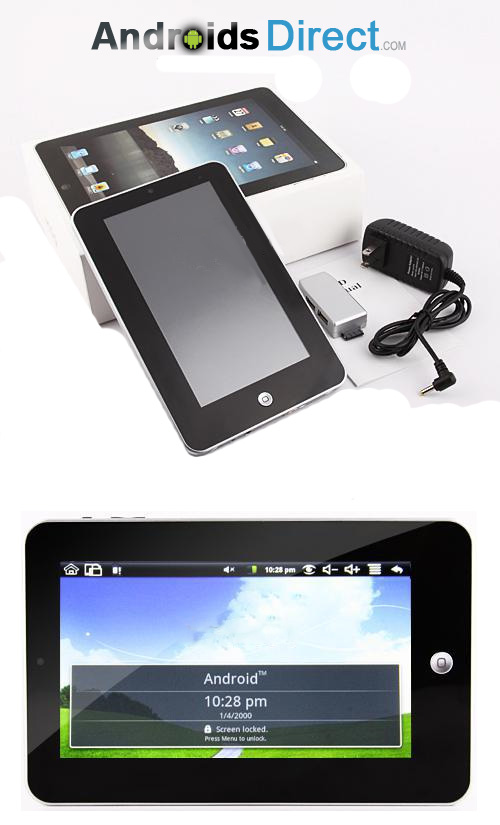 7 inch Google Android Wifi Camera Epad Tablet PC