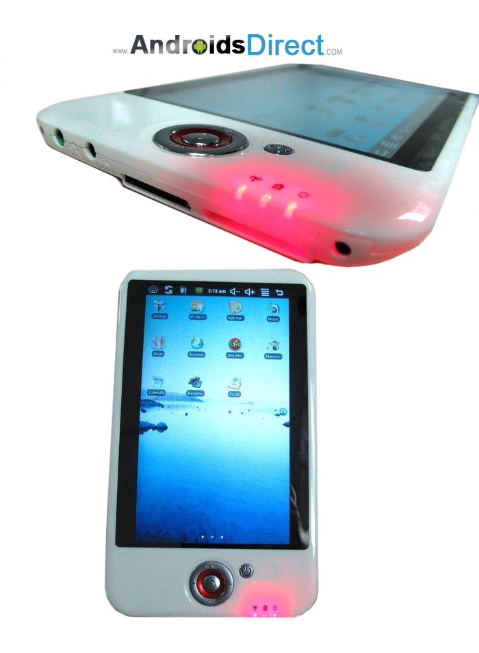 M001 7 inch white android ebook reader tablet PC