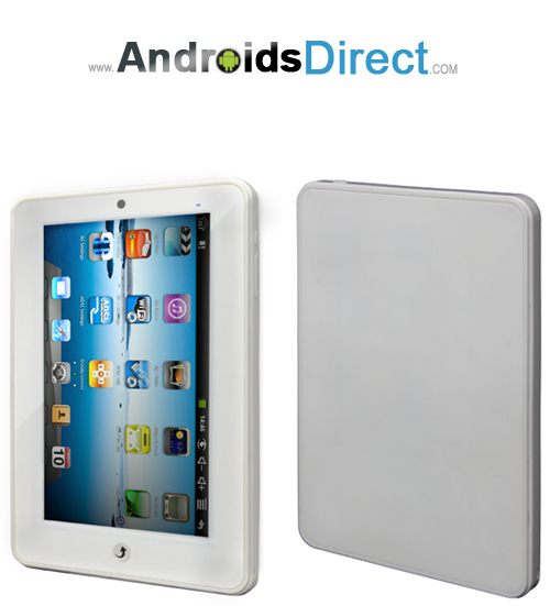 7 inch Google Android 2.2 White Tablet Pc